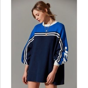 Urban Outfitters Tommy Oversized Racing Sweater